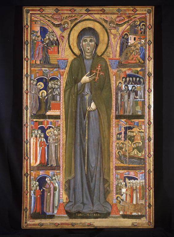 Pala di santa Chiara