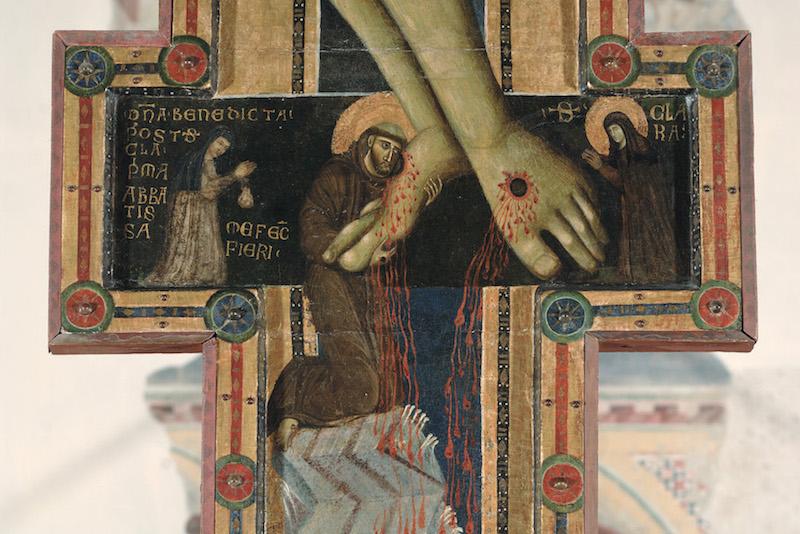 Particolare del Crocifisso