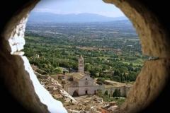 La Basilica dalla Rocca